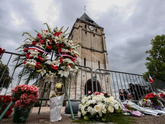 EPA FRANCE CRIME CHURCH ATTACK WAR ACTS OF TERROR FRA