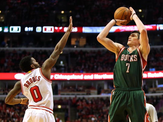 Ersan Ilyasova returns to the Bucks for his third stint with the team.