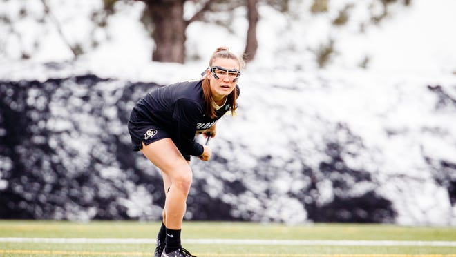 Agoura High graduate Kelsie Garrison helped the University of Colorado women's lacrosse team win the Pacific-12 Conference's inaugural regular-season championship.