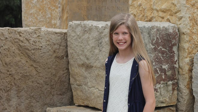 Seventh-grade student Emery Heflin is a Duke Scholar with grand recognition after she scored higher than 90 percent of college-bound high school students, nationwide, on the ACT exam this year.