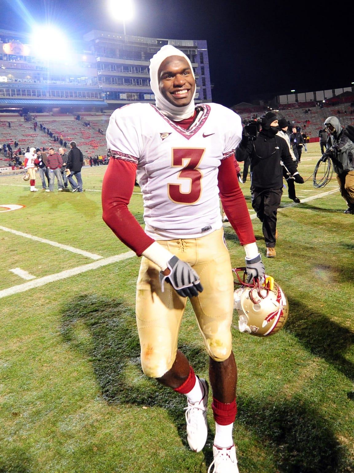 Myron Rolle was named a third-team All-American and