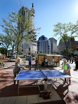 Big Car Collaborative hosted Spark: Monument Circle in Indianapolis in 2015. A similar, 16-week project called Spark: Lafayette-West Lafayette begins this week.