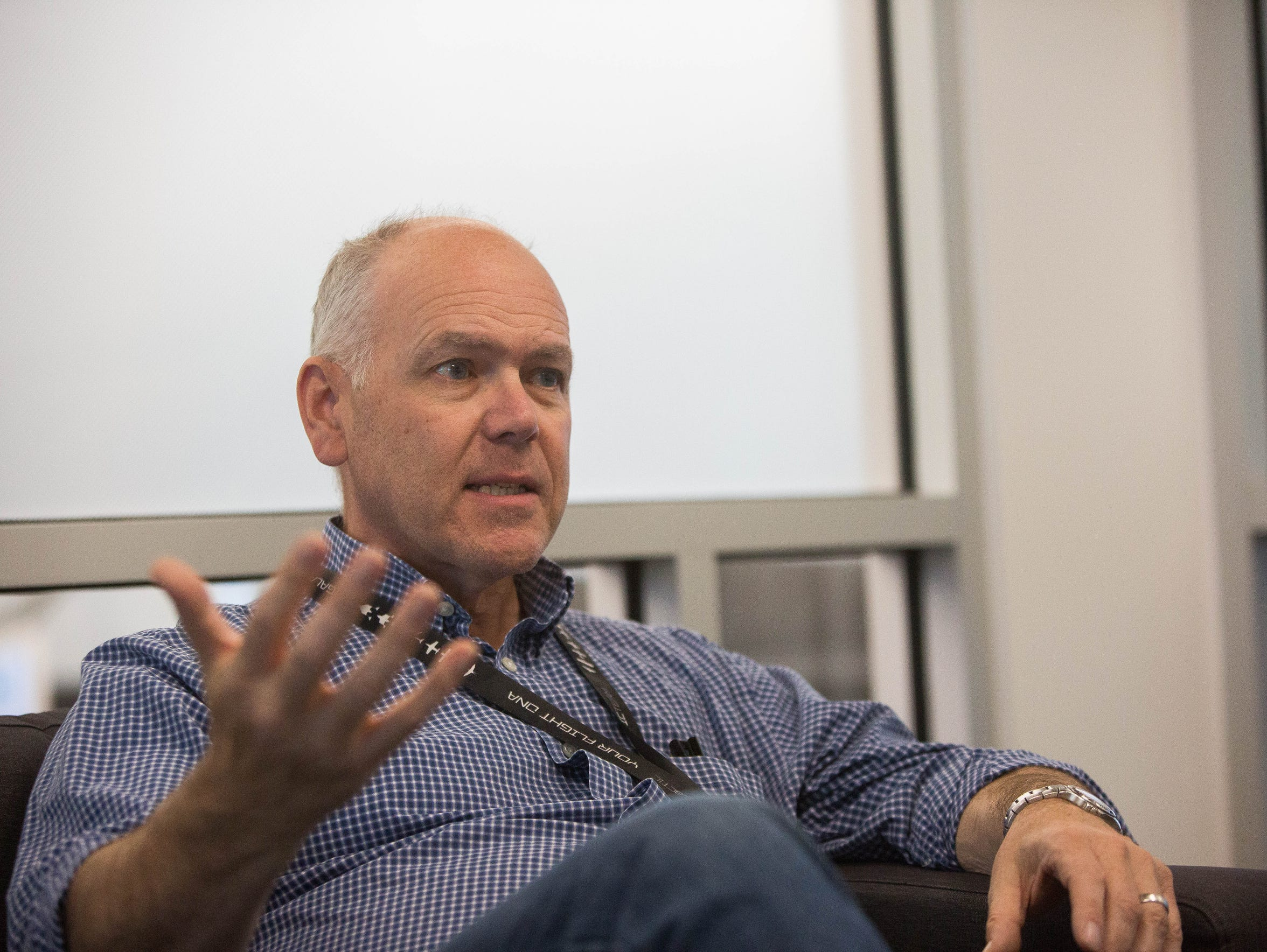 Jonathan Firth, executive vice president of spaceport