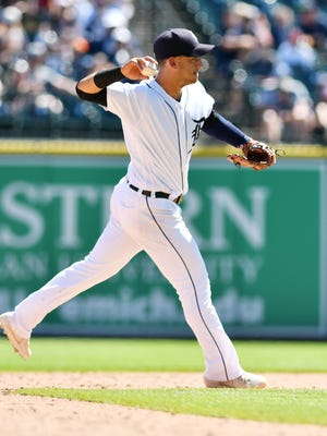 Tigers shortstop Jose Iglesias is hitting .269, with the second-highest slugging percentage of his career (.385) and a major-league best 37 RBIs from the No. 8 spot in the batting order.