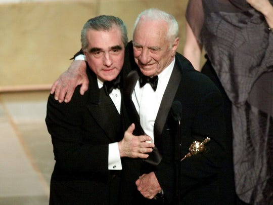 Image result for kazan getting honorary oscar 2000