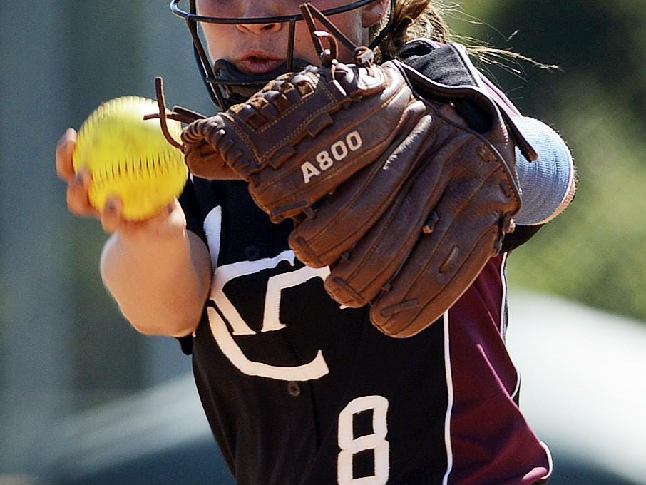 Alabama Christian's Caitlin Perry is the school's all-time leader with 119 wins and has struck out 1,116 batters in 912 innings.