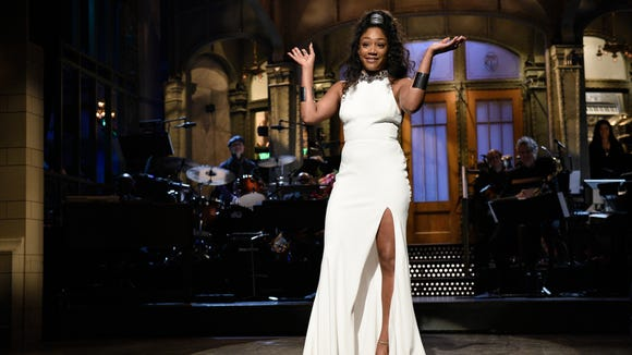 Tiffany Haddish is getting her money's worth out of