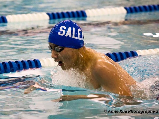 Salem senior Eugene Li already has two school records to his credit.