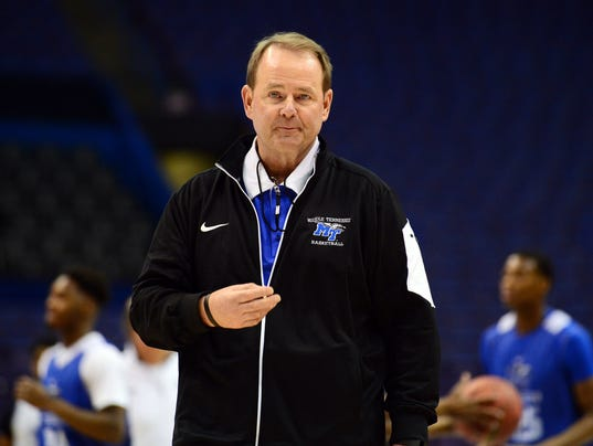 NCAA Basketball: NCAA Tournament-St. Louis Practice