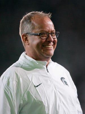 Michigan State's director of athletics Mark Hollis
