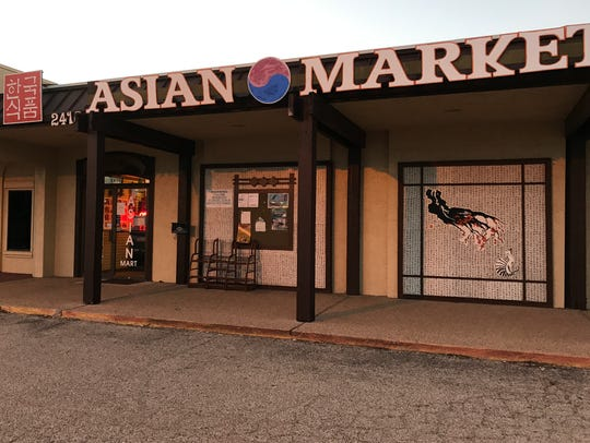 The Asian Market, near ASU, now has a Korean restaurant