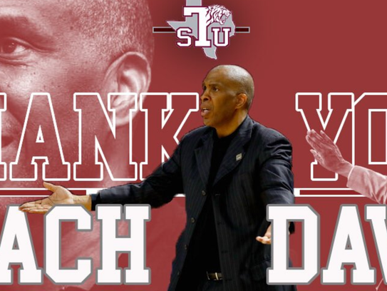 This photo montage thanking Mike Davis has been removed