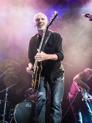 Peter Frampton performing at Le Zenith on October 20, 2013 in Paris, France.
