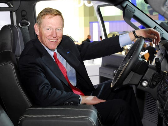 Ford  President and Chief Executive Officer Alan Mulally in 2007.