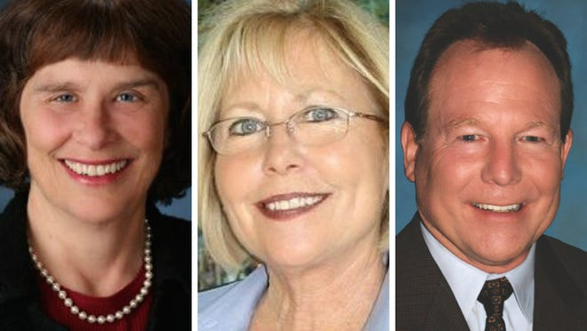 Roseann Mikos, Janice Parvin and Ken Simons were elected in Moorpark.