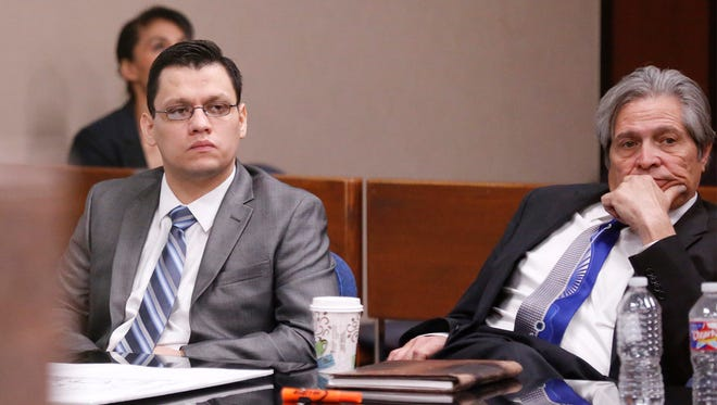 The trial of Antonio Lopez, left, ended in a mistrial after the jury deadlocked on a verdict.