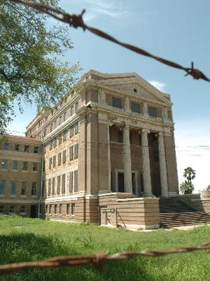 The former Nueces County Courthouse was constructed in 1914 at 1100 N. Mesquite St.