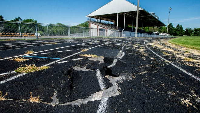 The latest state capital construction bill includes funds earmarked for improvements to the badly dilapidated Peoria Stadium facility.