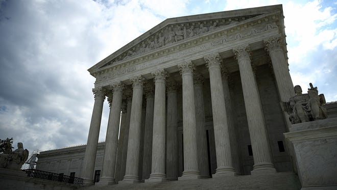 The Supreme Court ruled that police can search someone without suspicion, based on an outstanding arrest warrant.