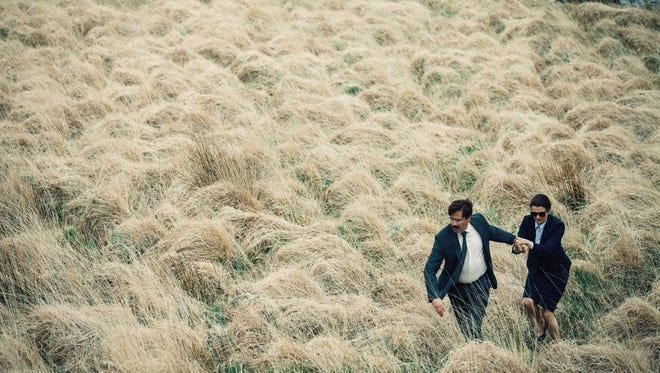 """Rachel Weisz and Colin Farrell appear in a scene from """"The Lobster."""""""