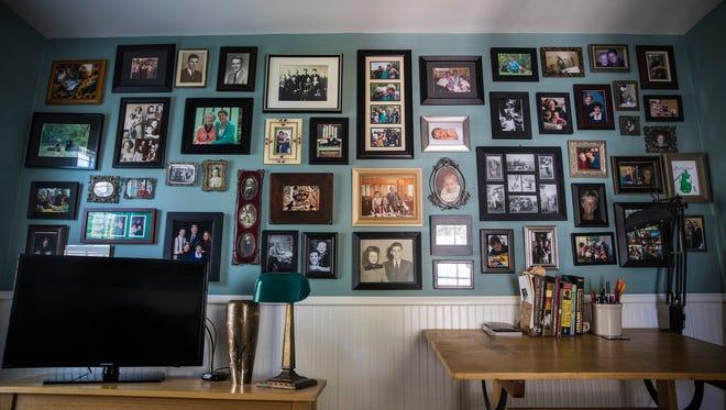 A picture wall designed by One Day Design. (Renee Jones Schneider/Minneapolis Star Tribune/TNS)