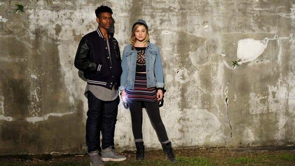 Freeform's 'Marvel's Cloak & Dagger' stars Aubrey Joseph as Tyrone Johnson/Cloak and Olivia Holt as Tandy Bowen/Dagger.