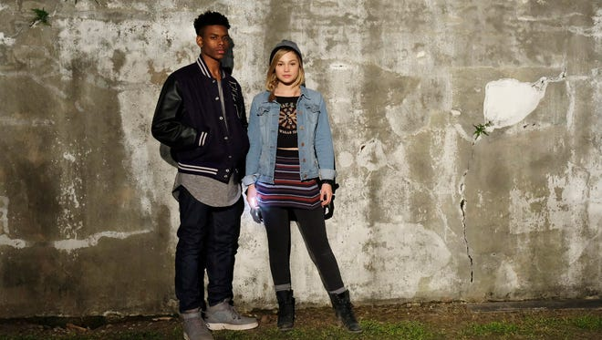 Freeform's 'Marvel's Cloak & Dagger' stars Aubrey Joseph as Tyrone Johnson/Cloak and Olivia Holt as Tandy Bowen/Dagger.
