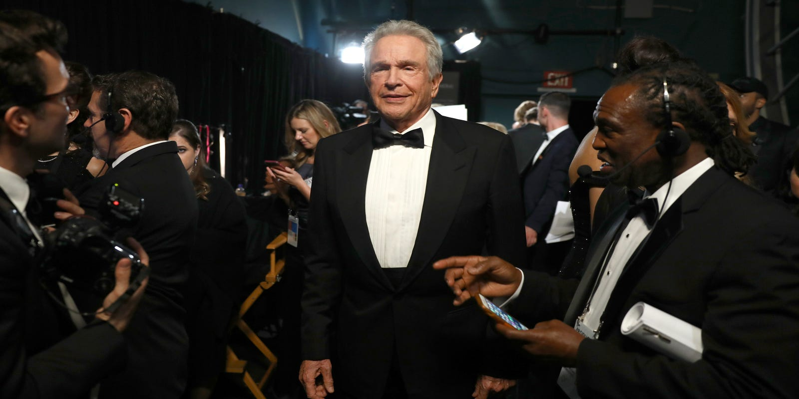Oscars 2018: Warren Beatty, Meryl Streep, and what we saw backstage