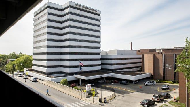 Nashville General Hospital is ready for another day of treating patients April 18, 2016.