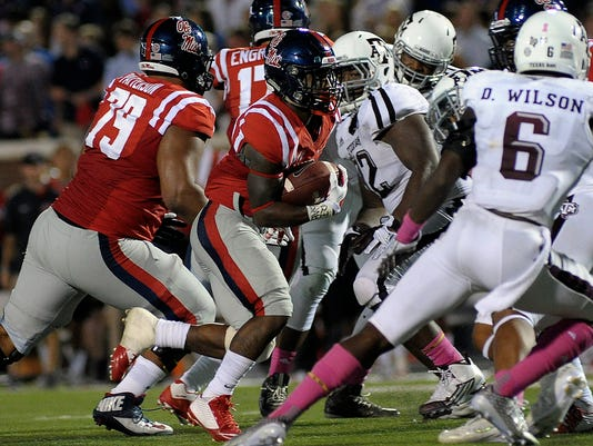 NCAA Football: Texas A&M at Mississippi