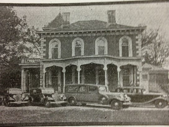 Historic photo of the Wilkins mansion