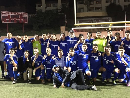 Fillmore High boys soccer