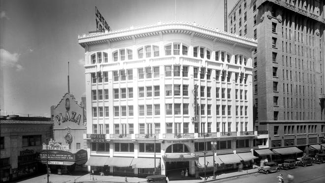An undated photo of the White House Department Store.