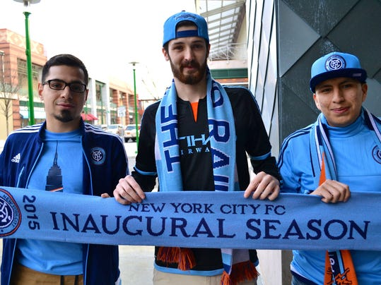 Soccer Fans Ready For Nycfc Opener At Yankee Stadium