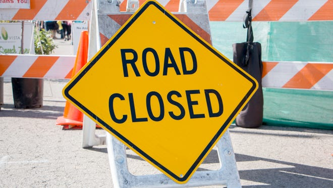 Portions of Walnut Street will close starting next week as the roof of the Carvel State Office Building is replaced.