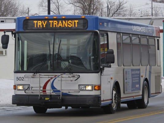 Sheboygan city bus