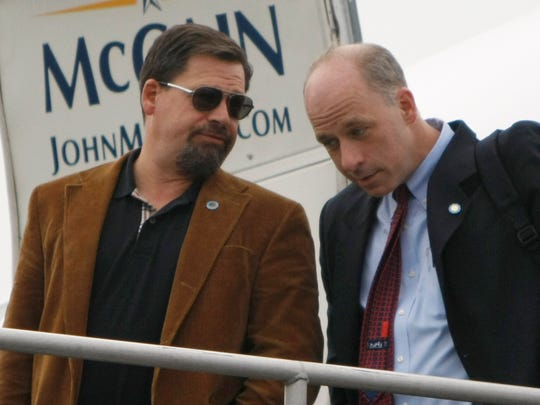 Greg Wendt, on the right, is a big Republican donor and advised Sen. John McCain, R-Ariz. during his 2008 presidential campaign.