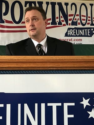 Dennis Potvin is seeking the 68th District state House seat as a Democrat,
