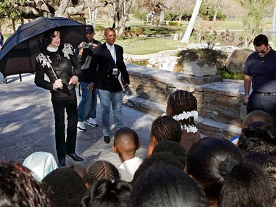 Pop star Michael Jackson liked to entertain at Neverland. In 2004,  he greeted several hundred children that were invited guests to the ranch in Santa Ynez, Calif. After a trial on charges of molesting children at the property, he choose to live elsewhere.