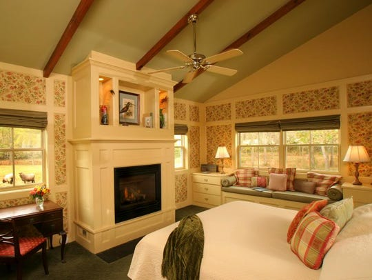 The Woolverton Inn offers a romantic getaway package