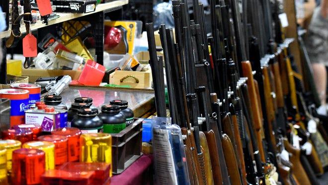Tri-County York Gun & Knife Show at Memorial Hall in York City, Sunday, June 26, 2016. Dawn J. Sagert photo