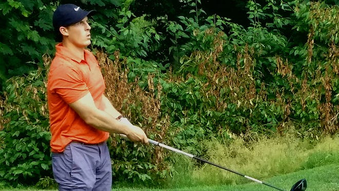 Tacoma's Brady White shot rounds of 68 and 73 to win the Kitsap Amateur golf tournament by two strokes.