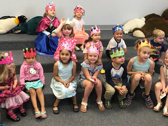 Children at Carlsbad Public Library.