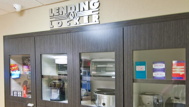 """The """"Lending Locker"""" at Candlewood Suites lets guests borrow everything from basic tools to toaster ovens."""