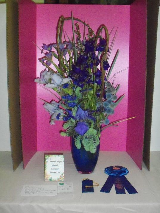 Garden Club Holds Spring Flower Show