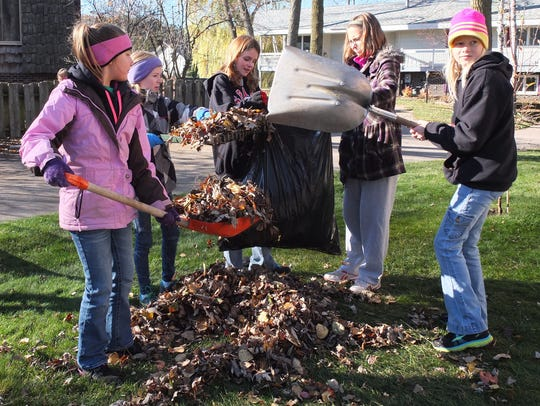 The annual Make a Difference Day Rake-a-thon will be