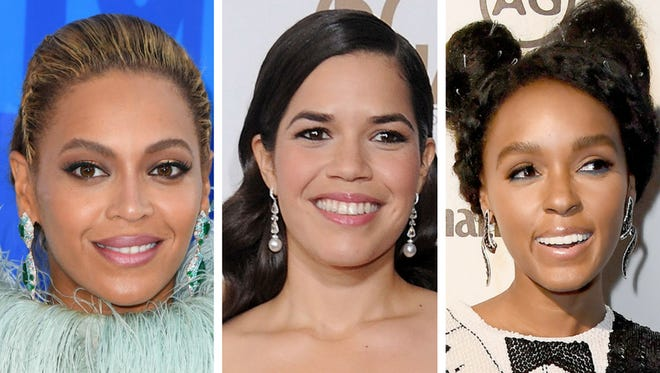 Beyonce, America Ferrera and Janelle Monáe are supporting the Women's March on Washington.
