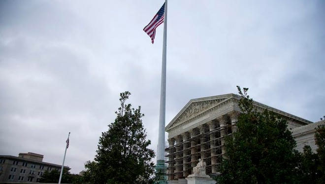 A view of the Supreme Court in Washington.