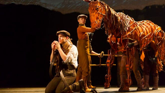 War Horse will be at the Auditorium Theatre from Tuesday through Sunday.