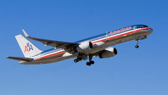 An undated image of an American Airlines Boeing 757.